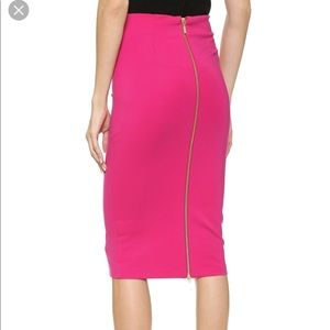5th and Mercer pink pencil skirt 4
